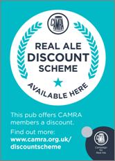Real Ale Discount Scheme Pub Sticker