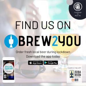 BREW2YOU Instagram Post - Find Us