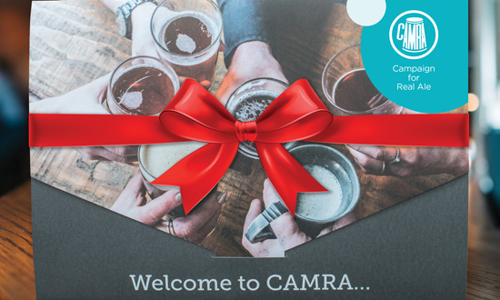 CAMRA gift pack