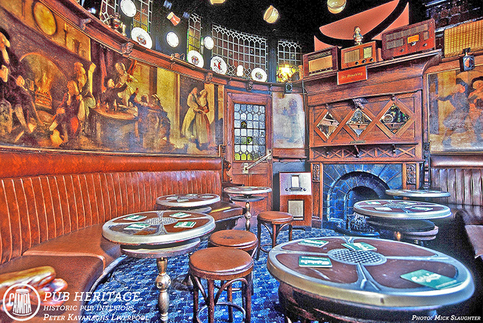 Peter Kavanagh's, Liverpool front room by Michael Slaughter LRPS