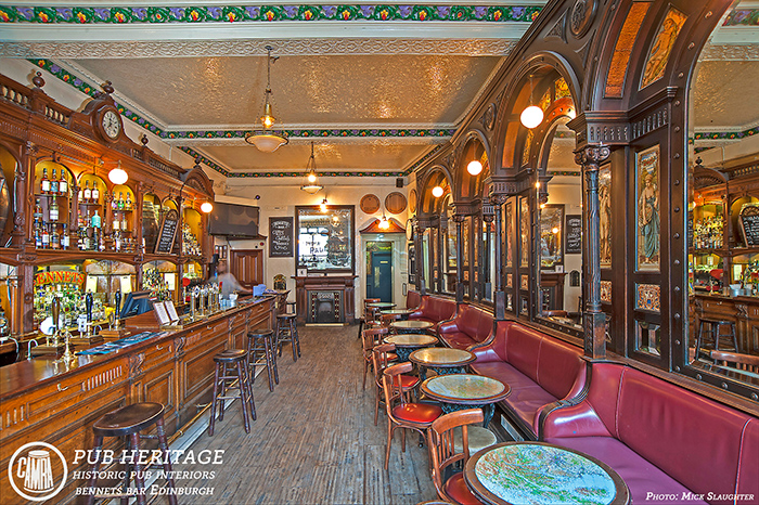 Edinburgh-BennetsBar-Interior adj by Michael Slaughter LRPS1