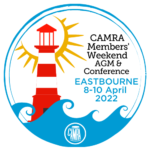 CAMRA Members' Weekend 2022 Logo