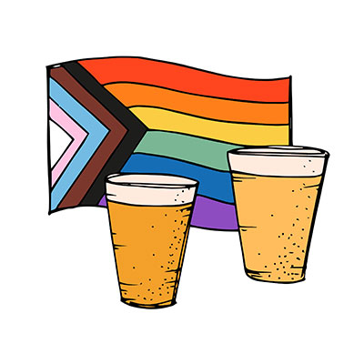 Inclusive Pub Illustration