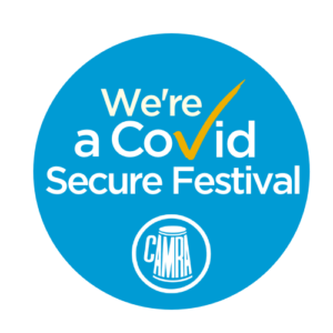 Covid secure festival logo